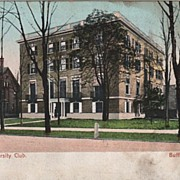 University Club Buffalo NY New York Postcard