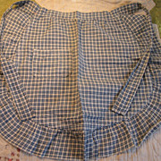 Early Child's Blue Homespun Apron~PA