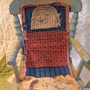 Mid-19th C. Sewing Roll-up/Housewife~Pre-Calico Era