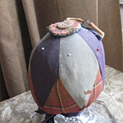 Early Antique Sewing Make-Do Pin Cushion, PA