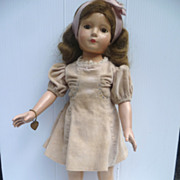 SOLD Dewees Cochran American Children Effanbee Doll Composition Large