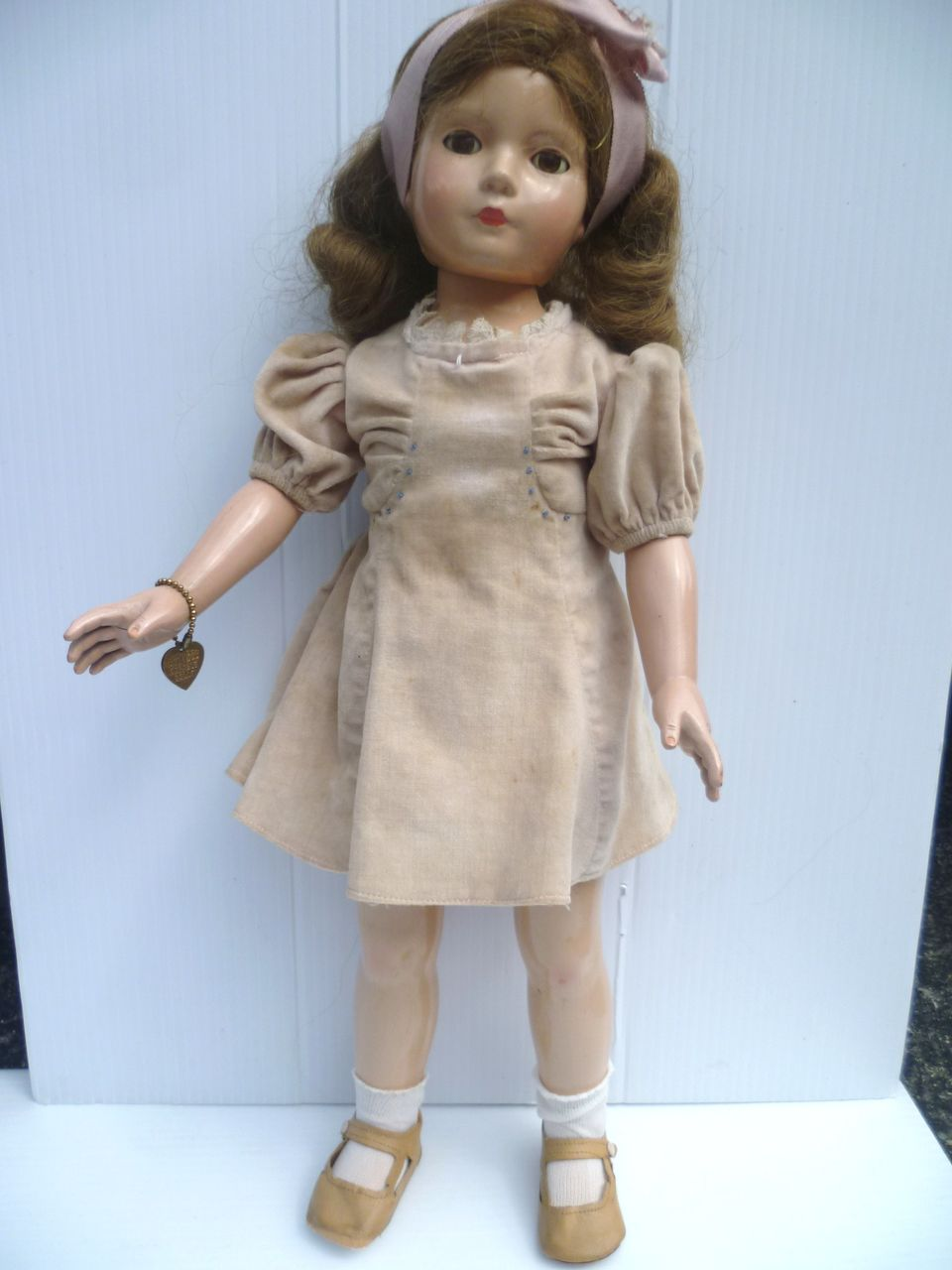 Dewees Cochran American Children Effanbee Doll Composition Large