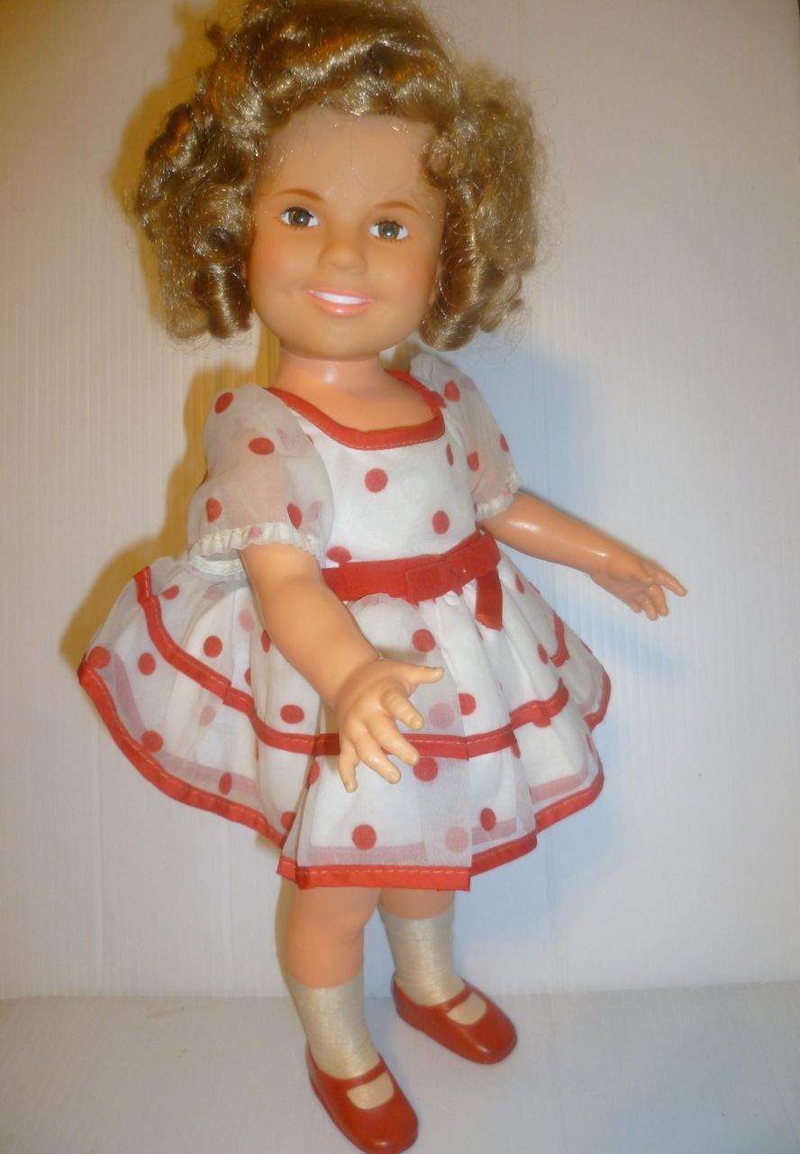 Vintage Ideal 1972 Shirley Temple Doll All Original