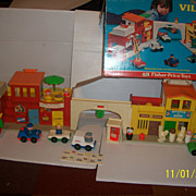 Fisher Price Play Family Village Complete in Box!