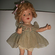 "Shirley Temple Doll Wannabee 20"" all original"