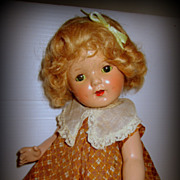 SOLD Vintage Shirley Temple Composition Doll Type 1930's with Provenance