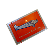 American Airlines Ford Tri Motor Plane Playing Cards
