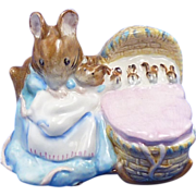 Hunca Munca Figurine Beswick Beatrix Potter