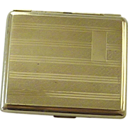 1960�s Silver Plated European Cigarette Case