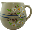 Large Oval Round Pottery �Mara�s Kitchen� Pitcher