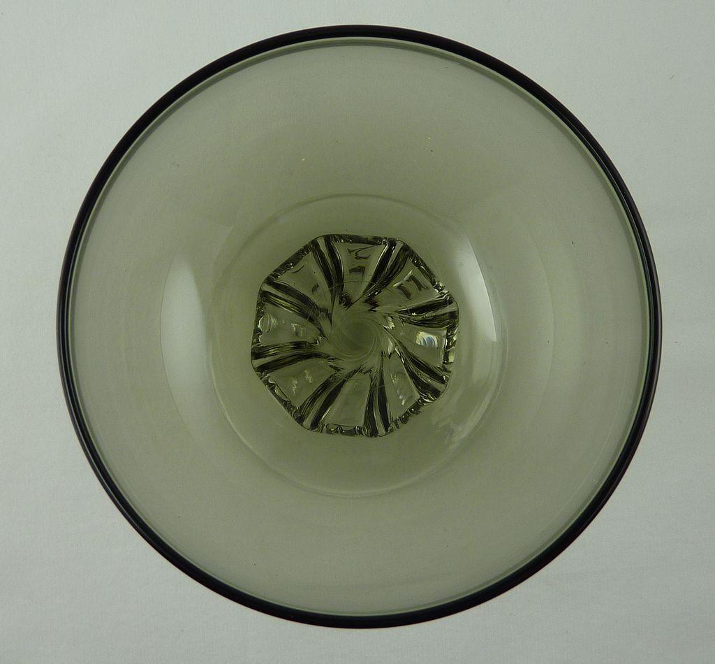 Glass  Coronation Bowl