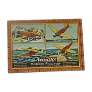 Vintage Airplane Box and Parts from Germany