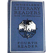 Wheeler�s Literary Readers Fourth Reader Book