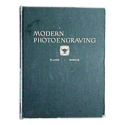 �Modern Photoengraving�  1948 Book