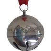 1982 Silver Plate Annual Sleigh Bell Christmas Ornament
