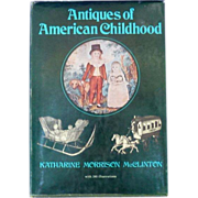 Antiques of American Childhood Book McClinton