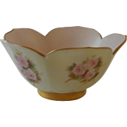 Hand Painted China Lotus Bowl