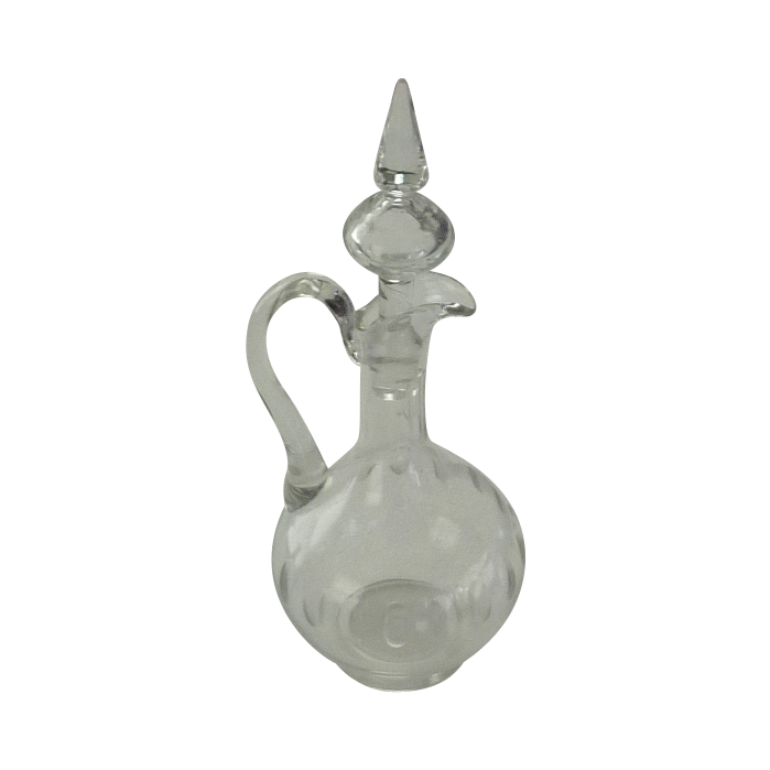 Holland Glass Wine  Bottle Decanter Circa 1930's