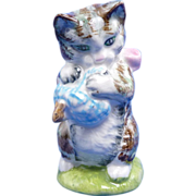 Beatrix Potter Miss Moppet Kitten Cat Beswick Figurine