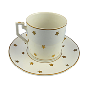 SALE Erphila Star Demitasse Coffee Cup and Saucer