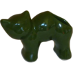 Forest Green Cat / Kitten Planter / Toothbrush Holder