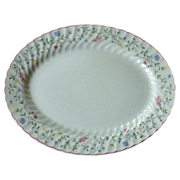 Summer Chintz Pattern Johnson Brothers Staffordshire China Platter