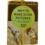 How to Make Good Pictures Kodak Hard Back Book