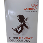 Juan Marins Guitar Method Flamenco Music Book