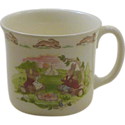Hug a Mug Bunnykins Royal Doulton China Baby Childs Cup