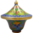 Cloisonn� Miniature Blue Pot