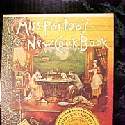 SALE Cookbook 1974 Miss Parloa's Reprint of 1880 New Cook Book General Mills  Book