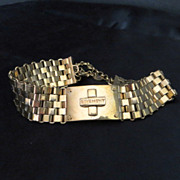 Vintage luxury designer signed jewelry runway Givenchy choker necklace