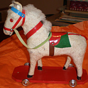 Horse Pull Toy Made in Western Germany