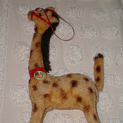 Kunstlerschutz West Germany Giraffe Wind-Up Toy w/Original Box