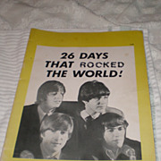 Beatles Book: 26 Days That Rocked The World