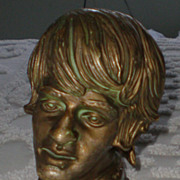 Original Beatles Memorabilia: Rare Ringo Starr Bust