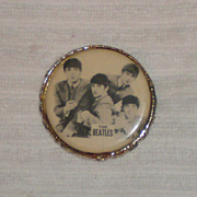 Original Beatles Memorabilia: 1964 Beatles Pin