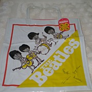 SALE Beatles Original Memorabilia:  Japanese Tote Bag