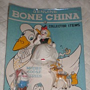 SOLD Snow White Bone China Miniatures Set - Red Tag Sale Item