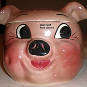 DeForest of California Ceramic Pig Cookie Jar