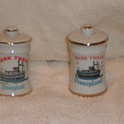 Disneyland Souvenir Mark Twain Salt or Pepper Shakers