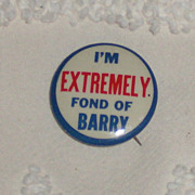 Original Barry Goldwater Campaign Button 1964