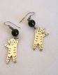 Silver Hangin' Kitty Earrings, Mexico 925,  *Great Gift!*