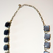Vintage Coro Necklace in Blue