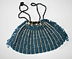 Beautiful Vintage Blue Beaded Bag c. 1900