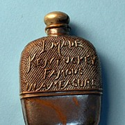 Antique Figural Tape Measure � Rare Whiskey Flask, c. 1900-1920