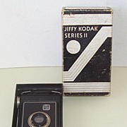 Jiffy Kodak Series 2, Camera Box Instructions