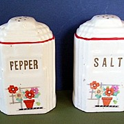 Harker Range Salt and Pepper Shakers