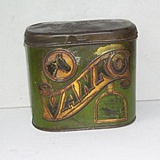 SOLD Vintage Vanko Cigar Horse Racing Tin