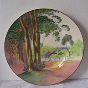 Royal Doulton Seriesware Gumtree Lorne Victorian Australia Cabinet Plate